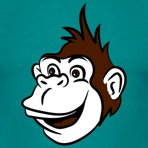 Gorilla monkey funny cool T-Shirts - Men's T-Shirt