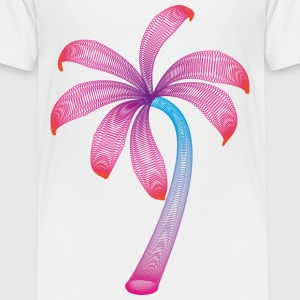 summer palm Shirts - Kids' Premium T-Shirt