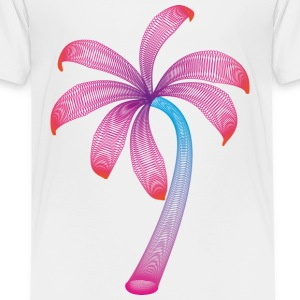 zomer palm Shirts - Teenager Premium T-shirt