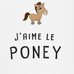 j'aime le poney Tee shirts manches longues Bébés - T-shirt manches longues Bébé