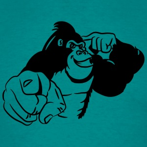 show Gorilla bird T-Shirts - Men's T-Shirt