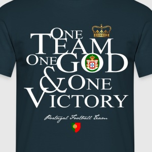 One Team One God Portugal - T-shirt Homme