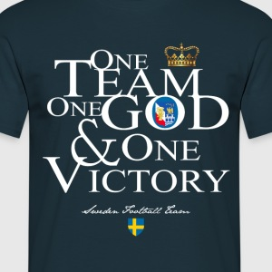 One Team One God Sweden - T-shirt Homme