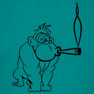 Gorilla kiffen joint T-Shirts - Men's T-Shirt