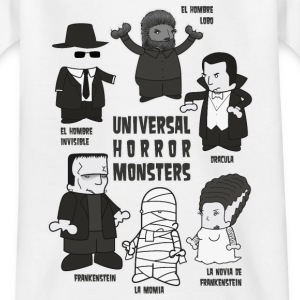 UNIVERSAL HORROR MONSTERS - Camiseta niño