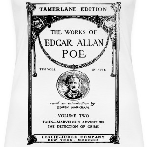 poe book cover T-shirts - Vrouwen Premium T-shirt