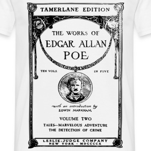 poe book cover Tee shirts - T-shirt Homme