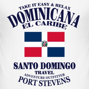 Dominican Republic Tee shirts - Tee shirt près du corps Homme