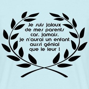 jaloux de mes parents Tee shirts - T-shirt Homme