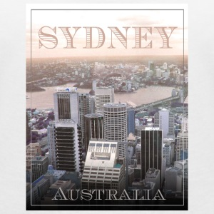 Sydney Skyline - Australia T-Shirts - Women's V-Neck T-Shirt