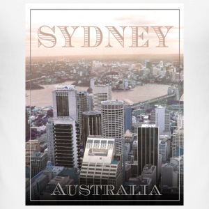 Sydney Skyline - Australia T-shirts - Slim Fit T-shirt herr