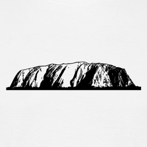 Ayers Rock - Australia T-Shirts - Men's T-Shirt