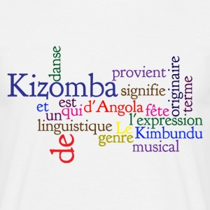 Kizomba definition Tee shirts - T-shirt Homme