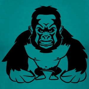 Gorilla agro monkey cool T-Shirts - Men's T-Shirt