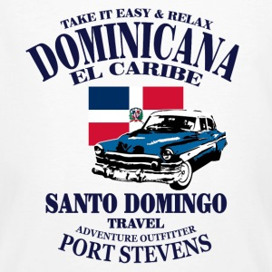 Dominican Republic T-shirts - Ekologisk T-shirt herr