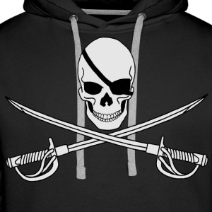 Ahoy!! Sweat-shirts - Sweat-shirt à capuche Premium pour hommes