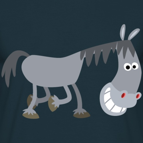 Sniggering Cartoon Horse by Cheerful Madness!!