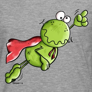 Superhero Frog Long sleeve shirts - Men's Premium Longsleeve Shirt