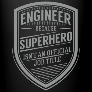 Engineer - Superhero (Vintage Logo) Tazas y accesorios - Taza de un color