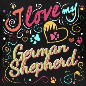 I love my German Shepherd - Women's Premium Longsleeve Shirt
