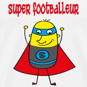 Super footballeur T-Shirts - Men's Premium T-Shirt