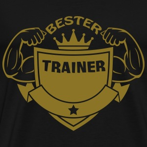 Bester trainer Tee shirts - T-shirt Premium Homme
