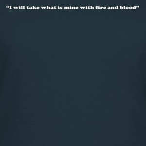 Fire and Blood - Women's T-Shirt