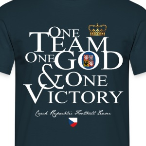 One Team One God Czech republic - T-shirt Homme