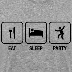 Eat, Sleep, Party T-Shirts - Männer Premium T-Shirt