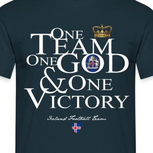 One Team One God Iceland - T-shirt Homme