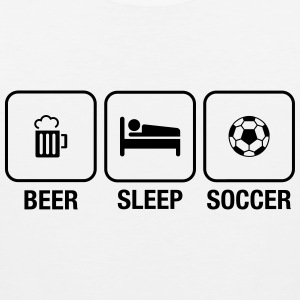 Daily Routine: Beer, Sleep, Soccer Ropa deportiva - Tank top premium hombre