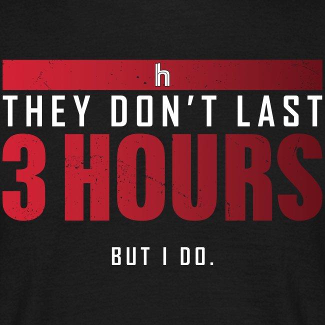 3 Hours (Men)