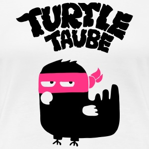 Turtletaube T-Shirts - Frauen Premium T-Shirt