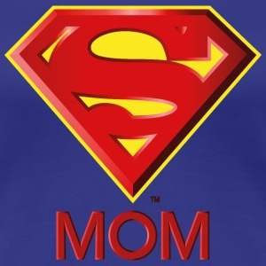 Superman 'Super MOM' Frauen T-Shirt - Frauen Premium T-Shirt