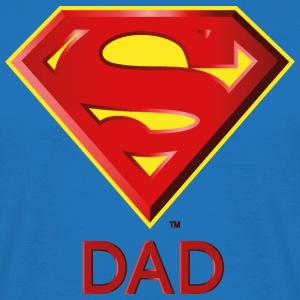 Superman 'Super DAD' Men T-Shirt - Mannen T-shirt