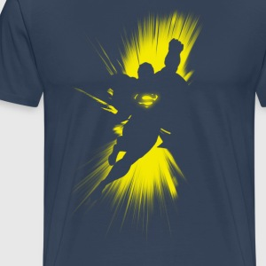Superman 'Shadow' Männer T-Shirt - Männer Premium T-Shirt