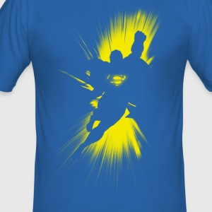 Superman 'Shadow' Männer T-Shirt - Männer Slim Fit T-Shirt