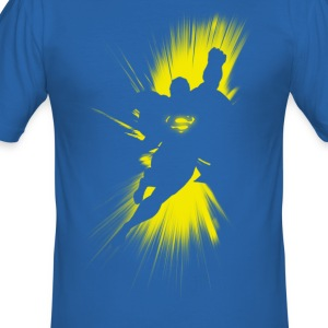 Superman 'Shadow' Men T-Shirt - Herre Slim Fit T-Shirt