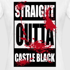 Outta Castle Black - Women's T-Shirt