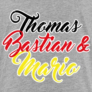 Thomas, Bastian & Mario T-Shirts - Teenager Premium T-Shirt