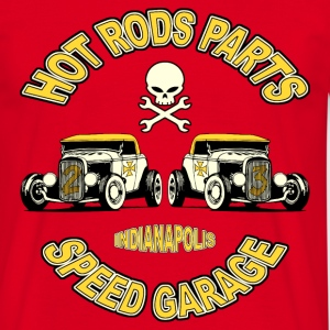 vintage hot rods parts 02 Tee shirts - T-shirt Homme