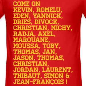 Come on selectie EK 16 France - Belgium - slim fit T-shirt