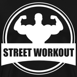 STREET WORKOUT T-shirts - Mannen Premium T-shirt