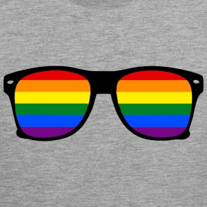 glasses rainbow Sports wear - Men's Premium Tank Top