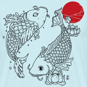 Japanese Koi - Men's T-Shirt