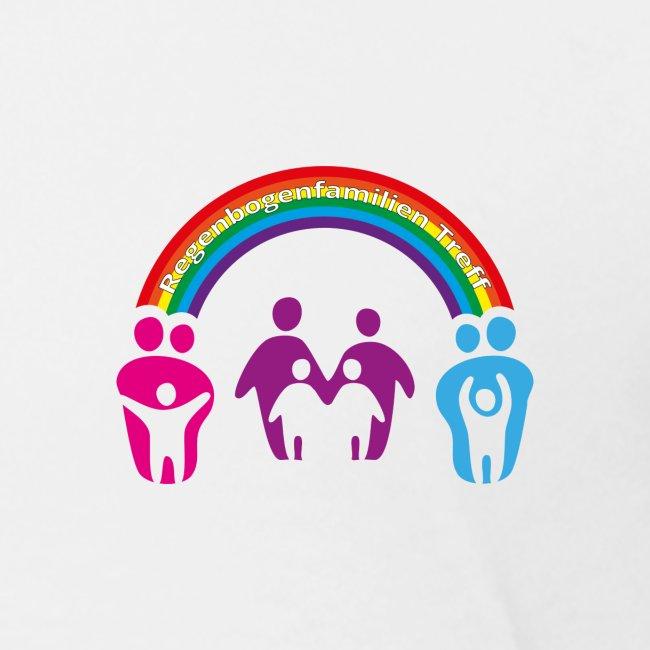 Teenager T-Shirt Regenbogenfamilie