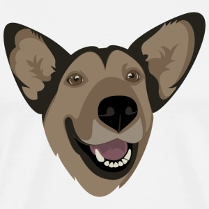 German Shepherd T-shirts - Mannen Premium T-shirt