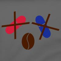 """Nerd T-Shirts mit """"Rote, blaue Pille oder Kaffee"""""""