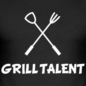 Grill Talent T-Shirts - Men's Slim Fit T-Shirt