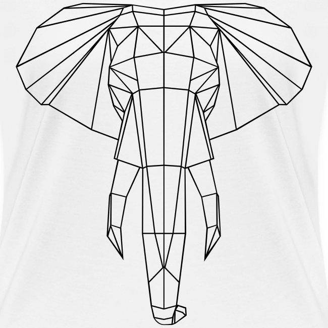 Geometrischer Elefant